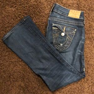 True Religion low-rose jeans